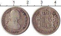Изображение Монеты Мексика 1 реал 1800 Серебро VF
