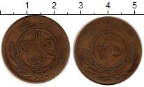 Изображение Монеты Афганистан 25 пул 1930 Медь VF