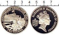 Изображение Монеты Великобритания Гернси 2 фунта 1995 Серебро Proof