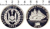 Изображение Монеты Джибути 100 франков 1994 Серебро Proof