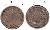 Изображение Монеты США 5 центов 1883 Медно-никель VF