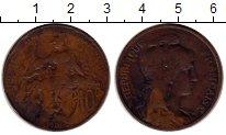 Изображение Монеты Франция 10 сентим 1901 Бронза VF