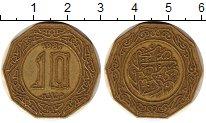Изображение Монеты Алжир 10 динар 1981 Латунь XF герб