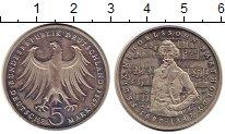 Изображение Монеты ФРГ 5 марок 1984 Медно-никель UNC- Феликс Мендельсон