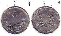 Изображение Монеты Сомали 5 сенти 1976 Алюминий UNC- ФАО