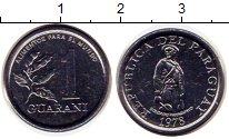 Изображение Монеты Парагвай 1 гуарани 1978 Железо UNC-