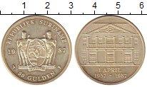 Изображение Монеты Суринам 30 гульденов 1987 Серебро XF Архитектура