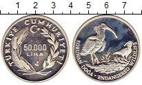 Изображение Монеты Турция 50000 лир 1994 Серебро Proof-