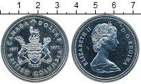 Изображение Монеты Канада 1 доллар 1971 Серебро UNC