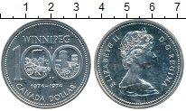 Изображение Монеты Канада 1 доллар 1974 Серебро UNC-