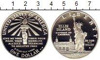 Изображение Монеты США 1 доллар 1986 Серебро Proof 100-летие Статуи Сво