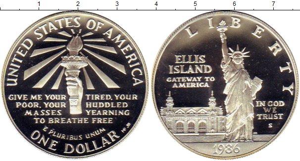 Доллар 1986 год 100 летие статуи свободы купить редактор faststone