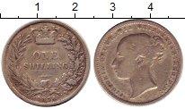 Изображение Монеты Великобритания 1 шиллинг 1874 Серебро XF Виктория (номер штем