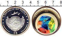 Монета Палау 5 долларов Серебро 2006 Proof- фото
