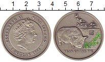 Изображение Монеты Ниуэ 1 доллар 2006 Серебро UNC Год свиньи