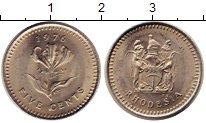 Изображение Монеты Родезия 5 центов 1976 Медно-никель UNC-