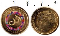 Изображение Монеты Австралия 2 доллара 2017 Латунь UNC