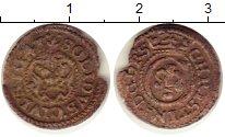 Изображение Монеты Рига 1 шиллинг 1643 Серебро VF Кристина