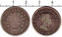 Изображение Монеты Лукка 1 франко 1808 Серебро VF