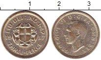 Изображение Монеты Великобритания 3 пенса 1937 Серебро XF Георг VI