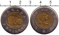 Изображение Монеты Канада 2 доллара 2006 Биметалл XF