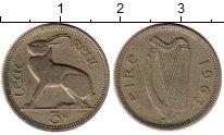 Изображение Монеты Ирландия 3 пенса 1963 Медно-никель XF+