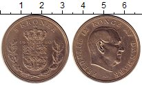 Изображение Монеты Дания 5 крон 1960 Медно-никель XF