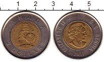 Изображение Монеты Канада 2 доллара 2011 Биметалл UNC-
