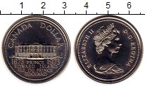 Изображение Монеты Канада 1 доллар 1973 Медно-никель UNC-