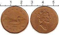 Изображение Монеты Канада 1 доллар 1995 Латунь XF