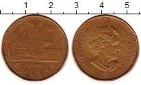 Изображение Монеты Канада 1 доллар 2006 Латунь XF