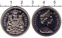 Изображение Монеты Канада 50 центов 1975 Медно-никель UNC-