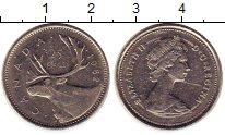 Изображение Монеты Канада 25 центов 1982 Медно-никель XF