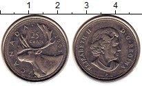 Изображение Монеты Канада 25 центов 2003 Медно-никель XF Елизавета II