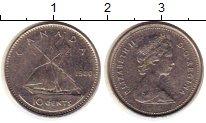 Изображение Монеты Канада 10 центов 1980 Медно-никель XF