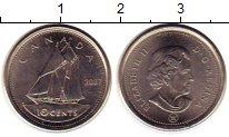 Изображение Монеты Канада 10 центов 2007 Медно-никель UNC- Елизавета II