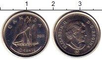 Изображение Монеты Канада 10 центов 2011 Медно-никель UNC- Елизавета II