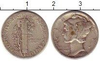 Изображение Монеты США 1 дайм 1935 Серебро VF