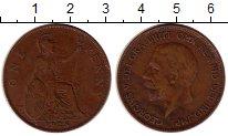 Изображение Монеты Великобритания 1 пенни 1928 Медь VF Георг V