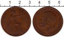 Изображение Монеты Великобритания 1 пенни 1921 Медь XF