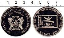 Изображение Монеты Сан-Томе и Принсипи Сан Томе и Принсисипи 1000 добрас 1996 Медно-никель Proof