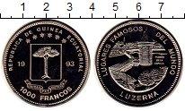 Изображение Монеты Экваториальная Гвинея 1000 франков 1993 Медно-никель Proof