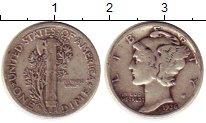 Изображение Монеты США 1 дайм 1936 Серебро XF