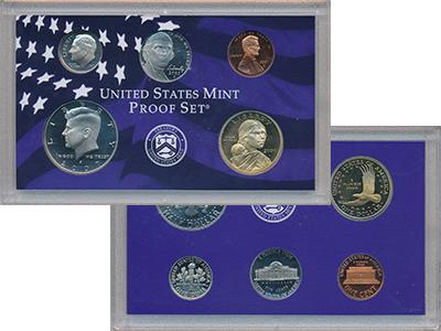 Изображение Подарочные монеты США Набор 2007 года 2007  Proof В набор входят пять