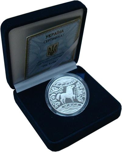 Изображение Подарочные монеты Украина 5 гривен 2013 Серебро Proof
