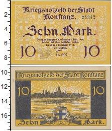 Изображение Банкноты Германия 10 марок 1918