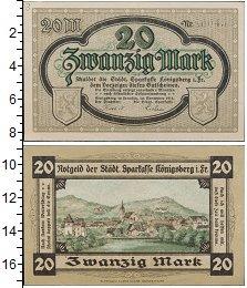 Изображение Банкноты Германия : Нотгельды 20 марок 1918