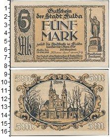 Изображение Боны Веймарская республика 5 марок 1919
