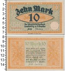 Изображение Банкноты Германия : Нотгельды 10 марок 0   <br>&nbsp;