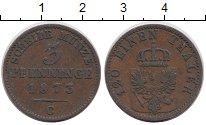 Изображение Монеты Пруссия 3 пфеннига 1873 Медь XF С
